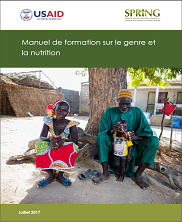 View details: SPRING/Senegal Manuel de formation sur le genre et la nutrition