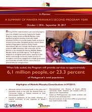 View details: Mahefa Miaraka Annual Report Summary 2017