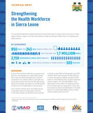 View details: Strengthening the Health Workforce in Sierra Leone