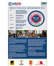 View details: Project for Local Empowerment (PLE) Snapshot