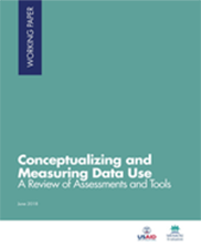 Conceptualizing and Measuring Data Use