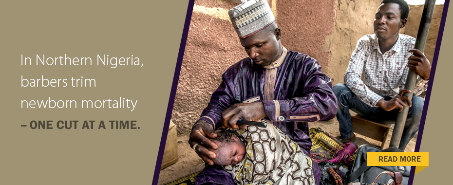 A newborn's first haircut is more than a beautiful tradition. It's an innovative way to save lives.READ MORE»