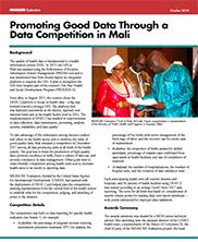 View details: Promoting Good Data Through a Data Competition in Mali