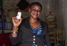 Tanzania HIV+ beneficiary