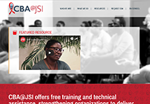 Thumbnail of the cba.jsi.com home page