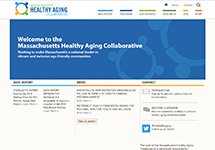 Thumbnail of the mahealthyagingcollaborative.org home page