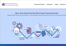 Thumbnail of the nysfptraining.org home page