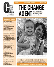 View details: Banner for Change Agent Issue #48: Indigenous Peoples
