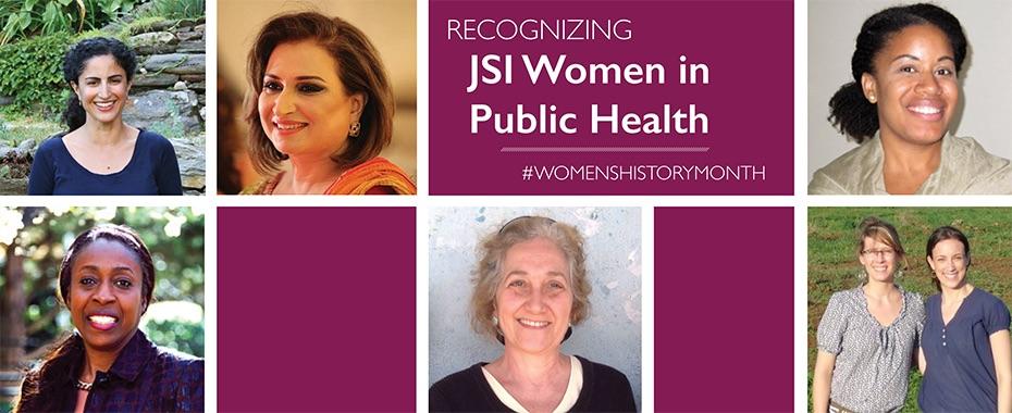 Throughout Women's History Month Recognizes JSI Women in Public HealthREAD MORE»