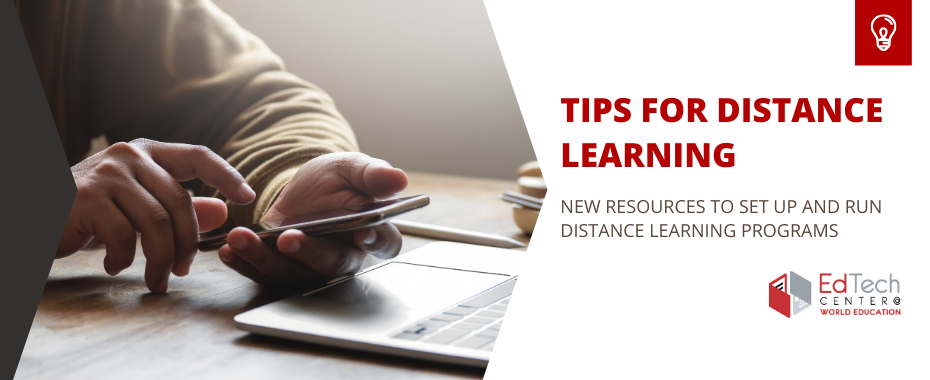 New to distance learning? Here's a step-by-step guide for setting up your online education program. READ MORE »