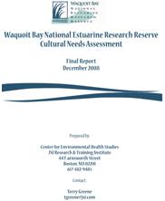 Waquoit Bay Cultural Needs Assessment