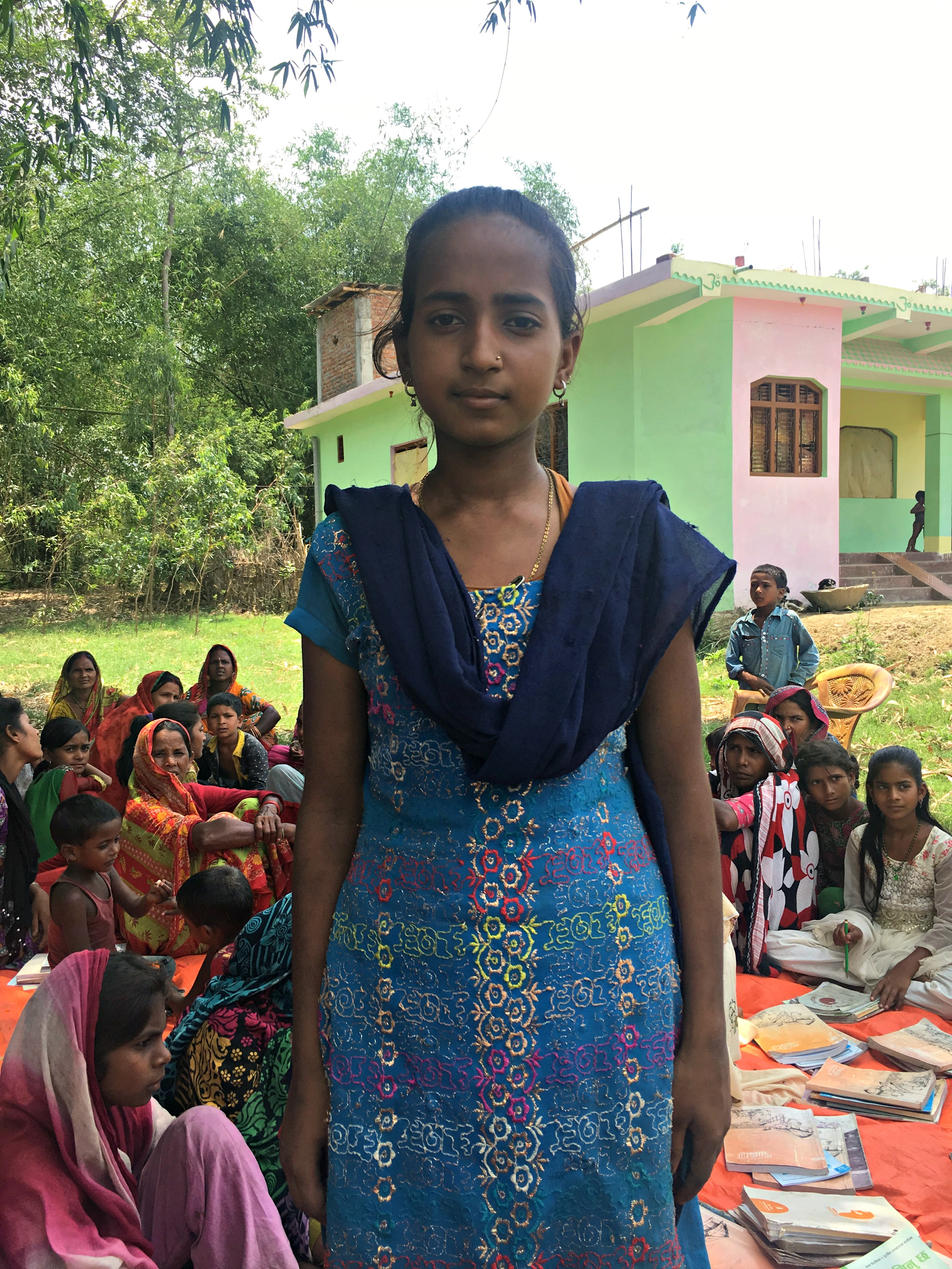 Kanti learned to read through World Education's girls' education program in Nepal.