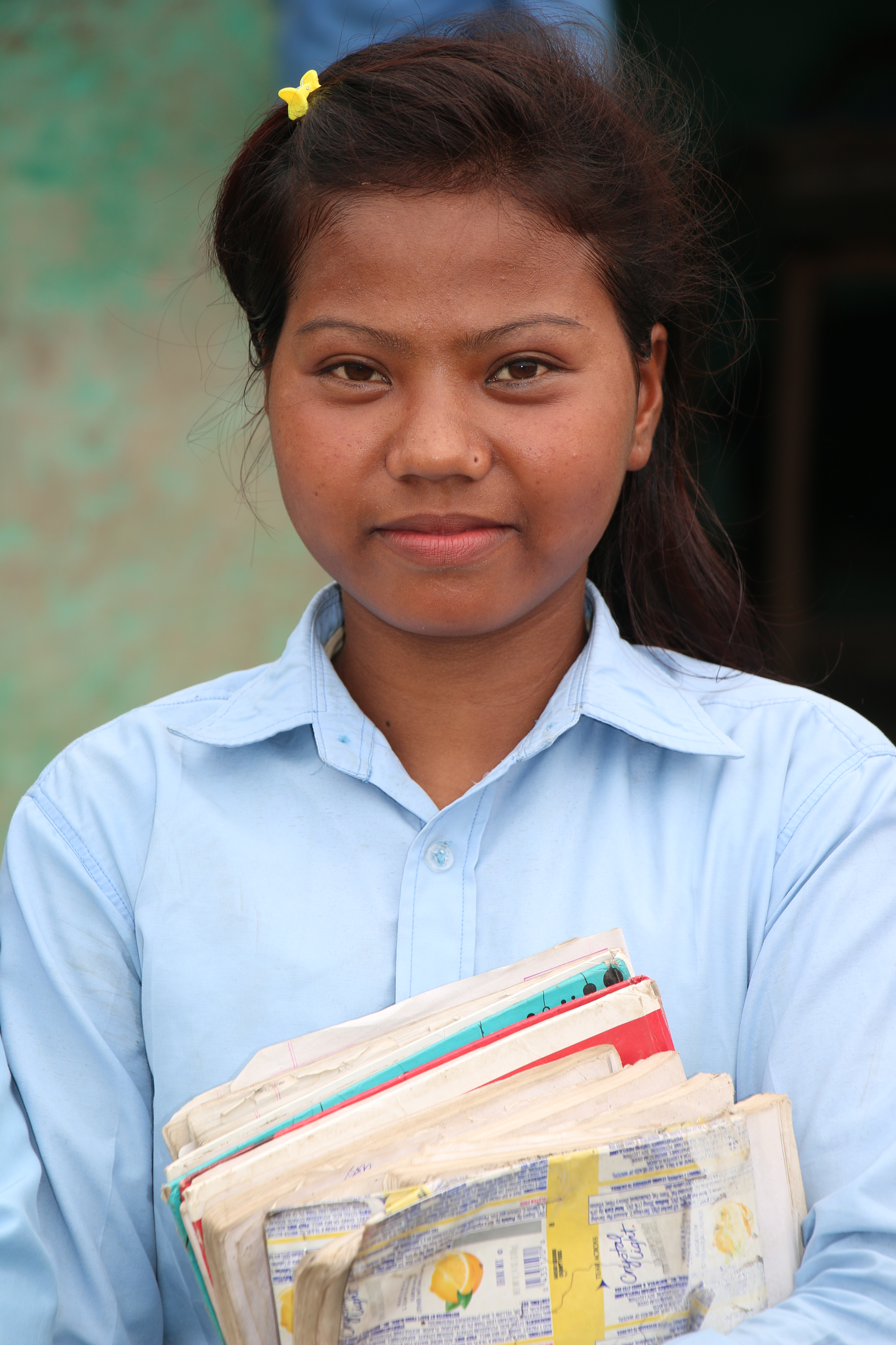 Sharadha, participant of World Education's Building Better Futures program in Nepal