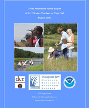 Needs Assessment Survey Report of K-12 Science Teachers on Cape Cod