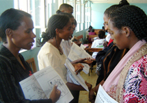 View details: Health extension workers - ready to train in Ethiopia