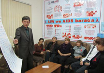 "Turkmenistan: ""support services steer toward healthy lives"""