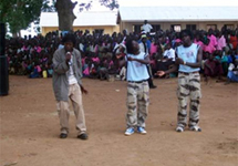 View details: Mobilizing communities to use services through art in IDP camps in Uganda