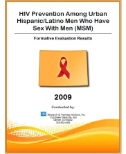 View details: HIV Prevention Needs Among Hispanic/Latino Men Who Have Sex with Men in the Denver Metro Area