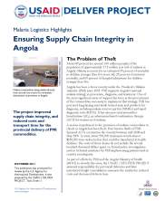 View details: Ensuring Supply Chain Integrity in Angola