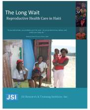 View details: The Long Wait: Reproductive Health Care in Haiti