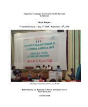 Djibouti PESCE Final Report Cover