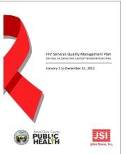 View details: HIV Services Quality Management Plan: San Jose, CA TGA (Santa Clara County)