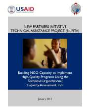 View details: NuPITA - Building NGO Capacity to Implement  High-Quality Programs Using the Technical Organizational Capacity Assessment (TOCA) Tool