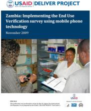 View details: Zambia: Implementing the End Use Verification survey using mobile phone technology