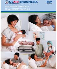 View details: Indonesia Health Services Program Final Report, 2005-2010