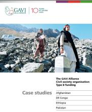 View details: The GAVI Alliance Civil Society Organizations Type B Case Studies: Afghanistan, the Democratic Republic of the Congo, Ethiopia and Pakistan