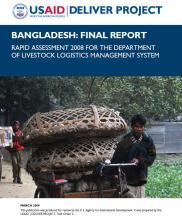 View details: Bangladesh: Final Report, Rapid Assessment 2008 for the Dept. of Livestock Logistics Management System