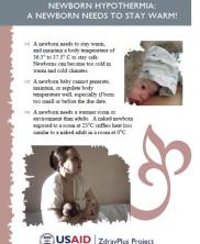 View details: Newborn Hypothermia Pamphlet