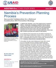 View details: Case Study: Namibia's Prevention Planning Process: Successful Collaboration for a National Combination HIV Prevention Strategy