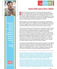 View details: JSI Case Studies in Capacity Building: Baptist Relief Agency Africa
