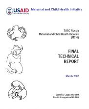 Russia Maternal and Child Health Intitiative final report