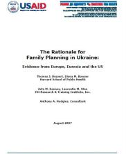 View details: The Rationale for Family Planning in Ukraine: Evidence from Europe, Eurasia and the US