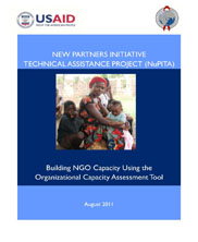 View details: NuPITA - Building NGO Capacity Using the Organizational Capacity Assessment (OCA) Tool