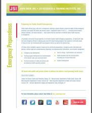 View details: Preparing for Public Health Emergencies