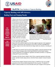 View details: NuPITA Case Study: Capacity Building with NPI Advisors: Building Trust and Reaping Results