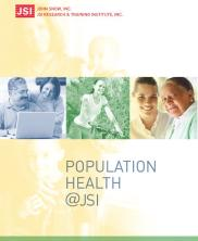 View details: Population Health at JSI