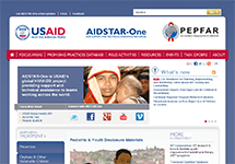 Thumbnail of the aidstar-one.com home page