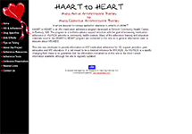 Thumbnail of the haarttoheart.jsi.com home page