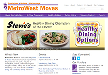 Thumbnail of the metrowestmoves.org home page