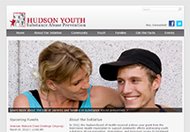 Thumbnail of the preventhudsonsa.org home page