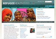 Thumbnail of the refugeehealthta.org home page
