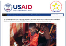 Thumbnail of the starecuganda.org home page