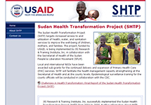 Thumbnail of the sudan.jsi.com home page