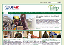 Thumbnail of the tshipnigeria.org home page