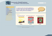 Thumbnail of the nhchi.org home page