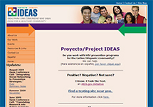Thumbnail of the proyectoideas.jsi.com home page